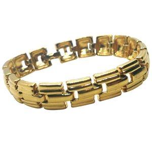 VTG Nina Ricci 22K GP Link Bracelet